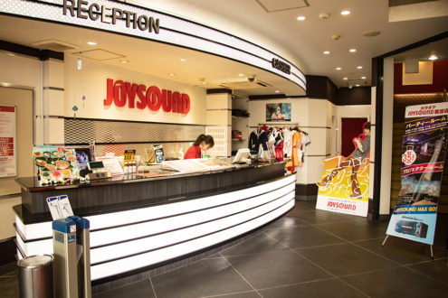 JOYSOUND熊本新市街店 1階受付