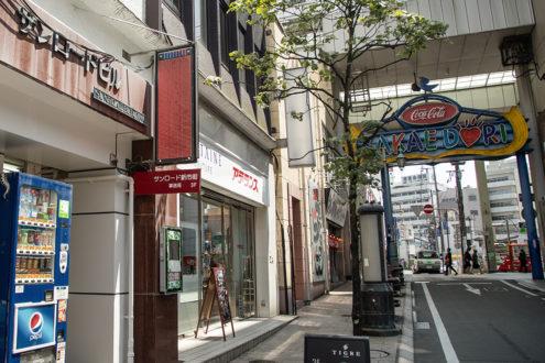 熊本市新市街商店街振興組合 外観2